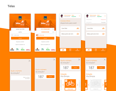 Bike Sampa App - Itaú | Concept redesign