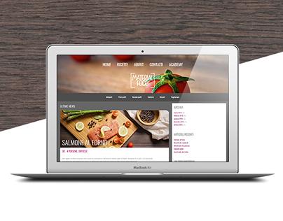 Material Food • Wordpress Theme
