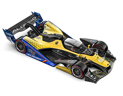 ALONSO INDYCAR VISION