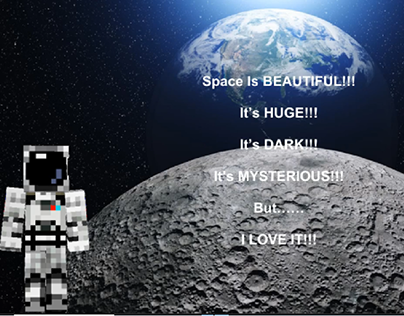 Space Poem (Updated with music and voiceover)