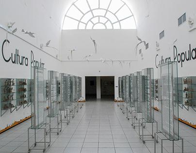 Rodapé da Sala Cultura Popular MAUC