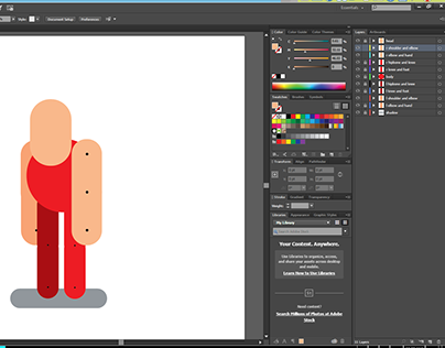 Character animation layers