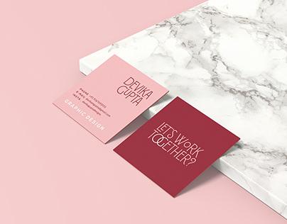 Personal Branding - Business Cards + CV