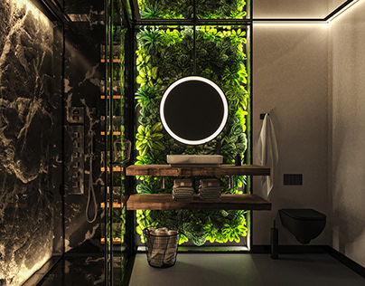 |NATURE|BATHROOM DESIGN|