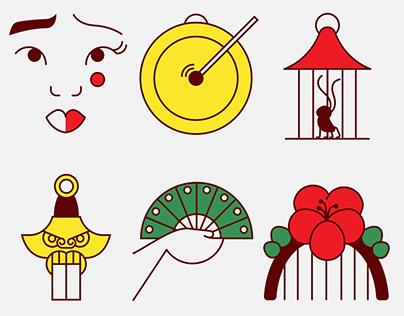 Mulan // Icon Set