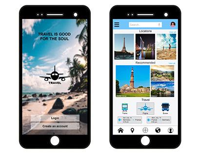 UI Design (Mobile App)