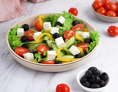 Greek salad - food photography