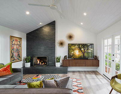 Mid Century Home by Monica Ledesma Design