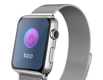 Tapp app - design