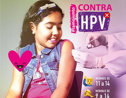 Campanha de Vacinação Contra HPV