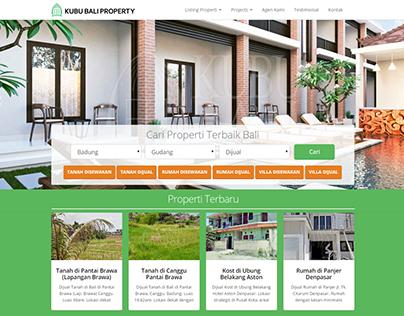 Kubu Bali Property Company's Website