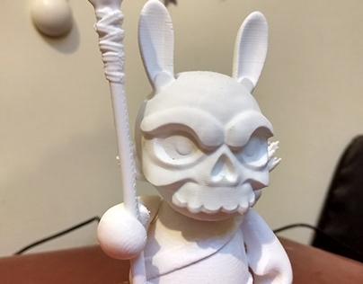 Skull Bunny Warrior
