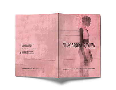 Tuscarora Review Magazine Design