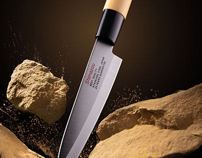Creative Photography For Kitchen Knife