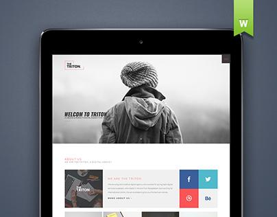 The Triton - Multipurpose Web Template