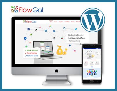 flowgat.com Website designed & developed from scratch