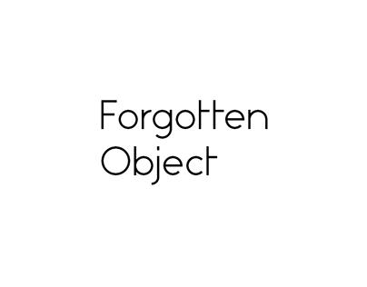 Forgotten Object branding
