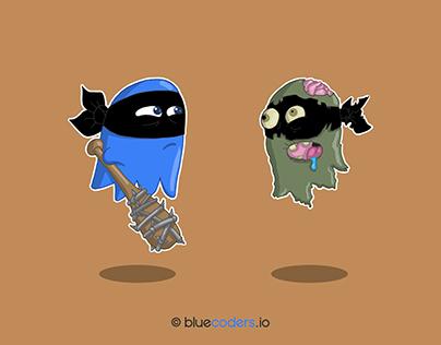 Walking Dead - BLUECODERS