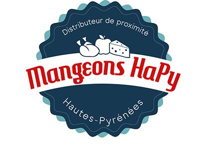Logo Mangeons HaPy ( autre version )
