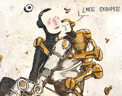 Shall we rust together?-¿Nos oxidamos juntos? StreetArt