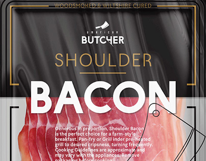 Rica Bacon Packaging