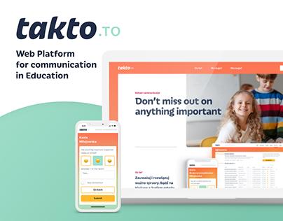 takto.to - Communication App for Education