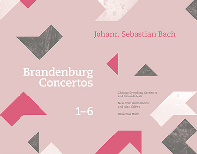 Bach Brandenburg Concertos Album Cover Series