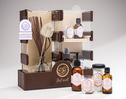 {be} well | Aromatherapy Packaging & Brand Development