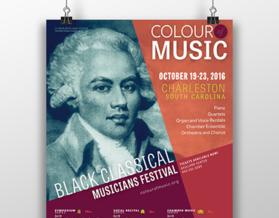 2016 Colour of Music Posters and Banners