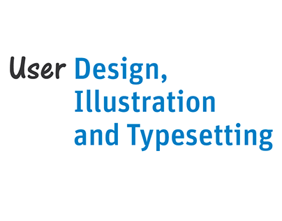 About User Design, Illustration and Typesetting UK