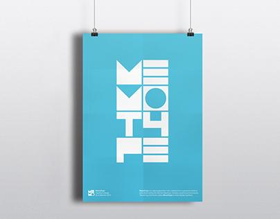 Memo: Exhibition & MemoType Posters