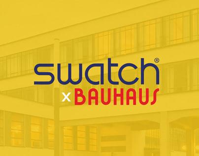 Swatch X Bauhaus | a tribute to 100 years of Bauhaus