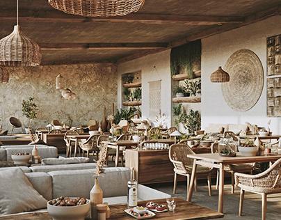 Restaurant in Milos Island