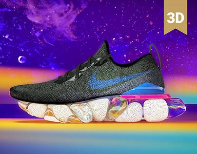 Nike-Epic React Flyknit
