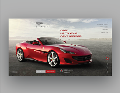 Concept Ferrari Re-design