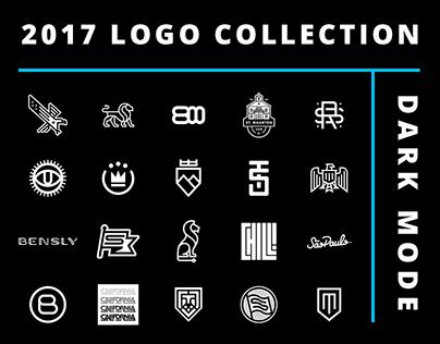 2017 Logo Collection - Dark Mode