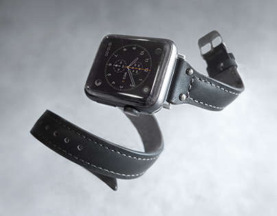 Handcrafted Leather Apple Watch Strap