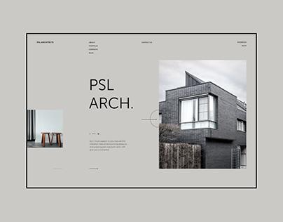 PSL Architects — Website