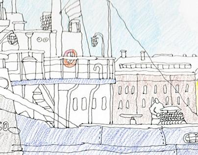 Sketchbook №10 completed Part 1
