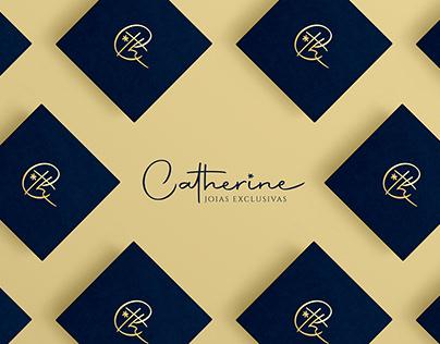 Catherine | Joias Exclusivas | Logotipo
