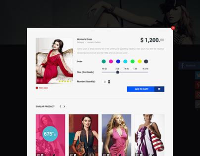 E-Bygormob Online Shopping PSd Template
