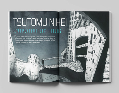 Editorial Illustration for Angouleme Festival Magazine