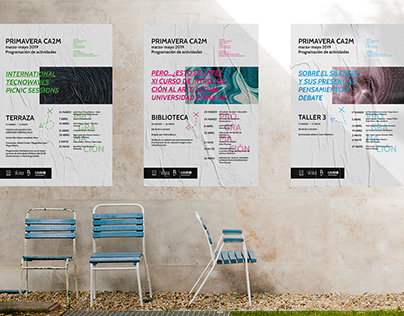 CA2M – Diseño de carteles