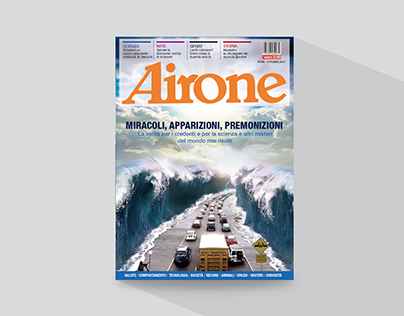 Airone - Magazine Restyle Proposal