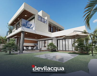 Bevilacqua Arquitetura   Projeto residencial 382m²