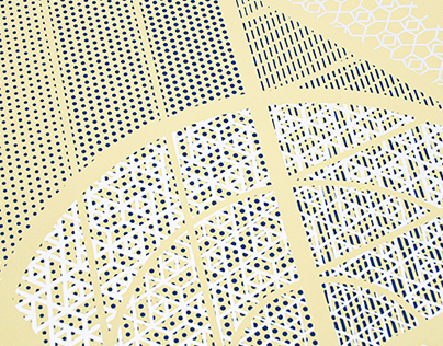 Pattern on Pattern — Artcrank Poster 2015