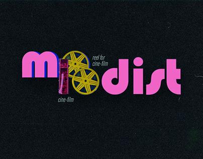 Molodist. Kyiv film festival identity
