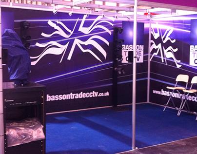 Basson Trade CCTV stand