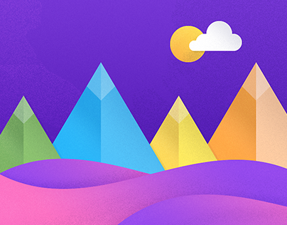 Material Design Inspired Icons and Illustrations