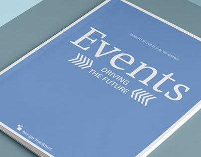 'EVENTS' Magazin für die Messe Frankfurt